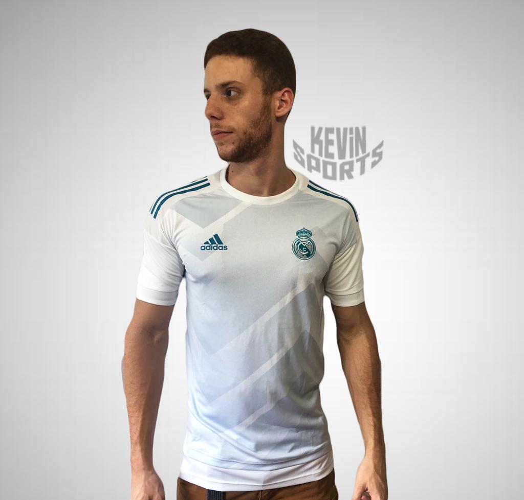 87b72671cbb98 Camisa Pré Jogo Real Madrid - Comprar em Kevin Sports