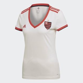 Camisa Feminina Flamengo Adidas Branca fd9087b5173bb
