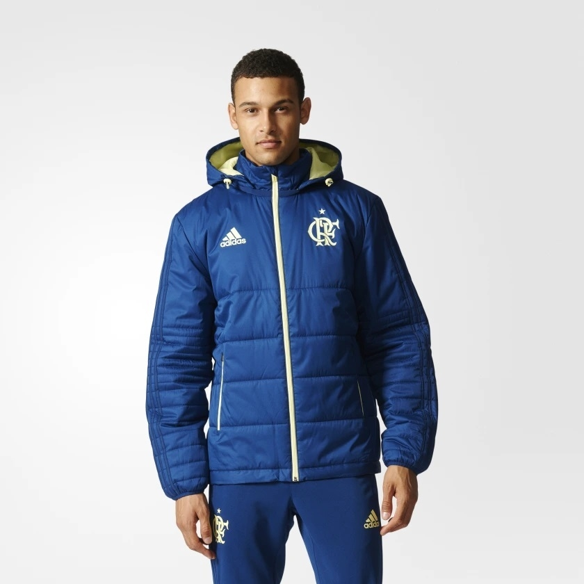 Casaco Winter Flamengo Adidas zul - Kevin Sports 4b9c4d764e4ce