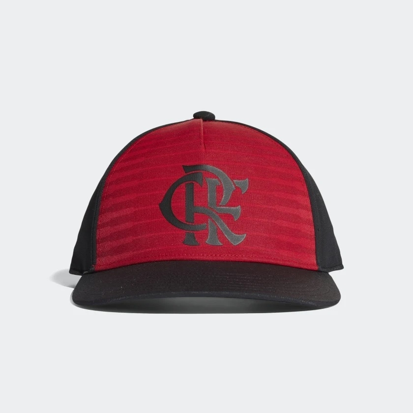 1a0dc0842a2ec Boné Flamengo Adidas Preto   Vermelho - Kevin Sports