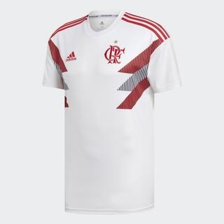 Camisa Flamengo Pré-Jogo Branca 2018 5713ba5243fbc