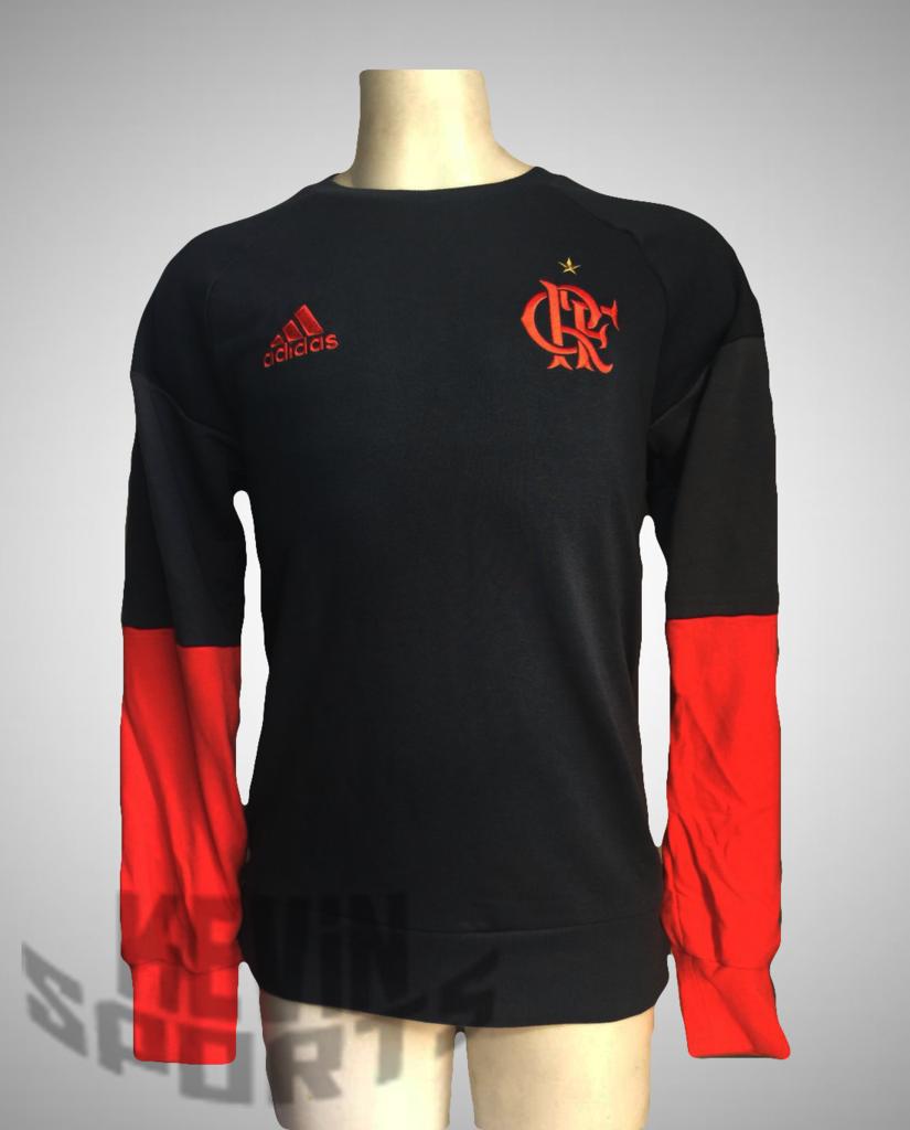 3aebc50c982 Moletom Adidas Flamengo Treino 2016 - Kevin Sports