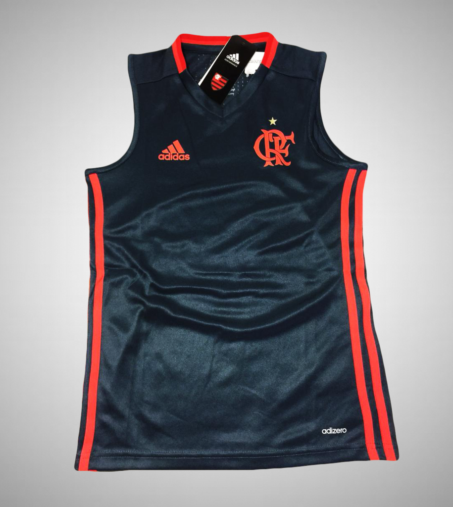 Camisa Treino Regata Infantil Flamengo Adidas dcef5ea4c15dd