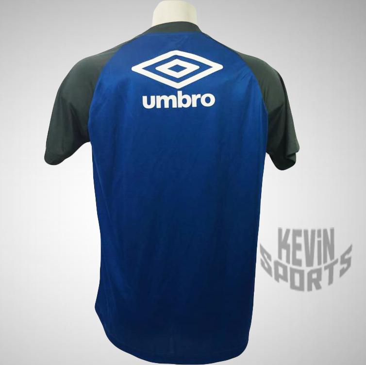 e72e3ace79 Camisa Umbro Vasco Treino 2017 Cinza e Azul - Kevin Sports