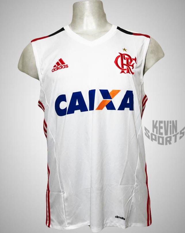 bd7af1ccb Camisa Regata Adidas Flamengo II 2016 - Kevin Sports