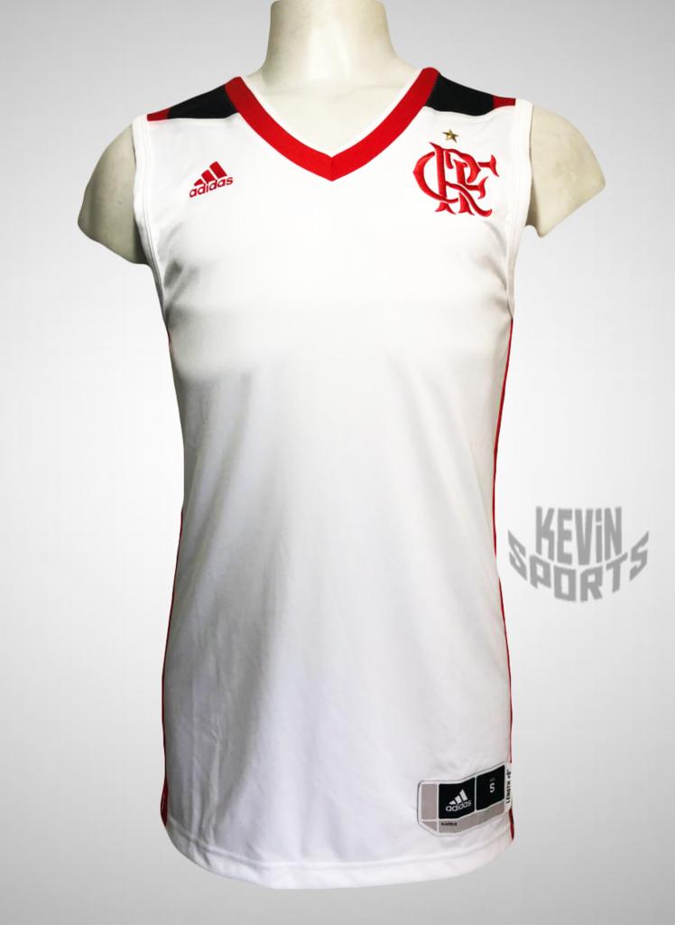 f341d97e4 Camisa Basquete Regata Flamengo adidas 2016 2017