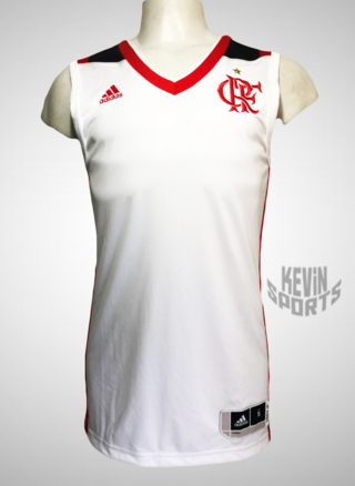 Camisa Basquete Regata Flamengo adidas 2016 2017 3650d1c5e3fb9