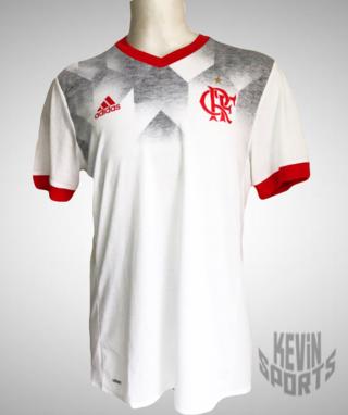 baacef7a13d19 Camisa Flamengo Pré Jogo Adidas - Branco e Vermelho