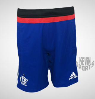 Calção Adidas Flamengo Treino 2015 Azul – Masculino ffcee2f92d51b