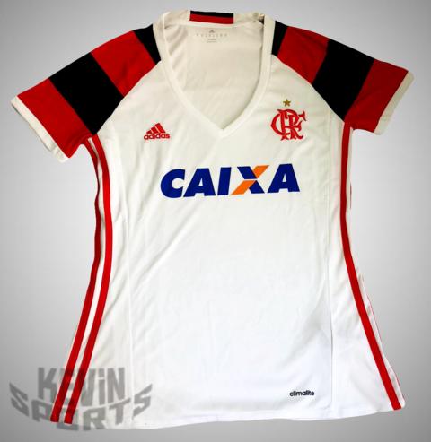 f2eef1faa7af1 Camisa do Flamengo II 2016 adidas - Feminina