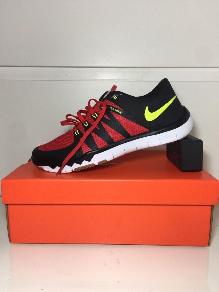 3211ee3f730 Tênis Nike Free Trainer 5.0 V6 Masculino Preto e Vermelho