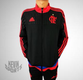 a3f445ff29c Agasalho Infantil de Treino do Flamengo adidas Viagem 2015