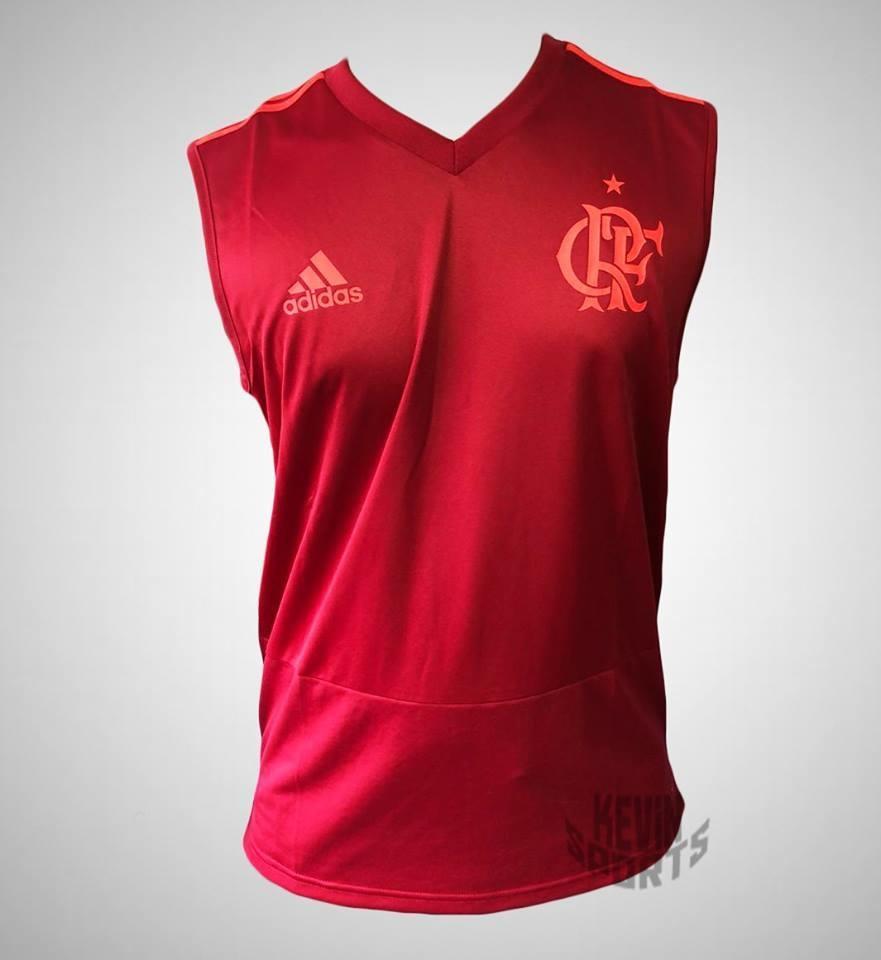 b90278421c96a Regata Original Flamengo Adidas de Treino 2018