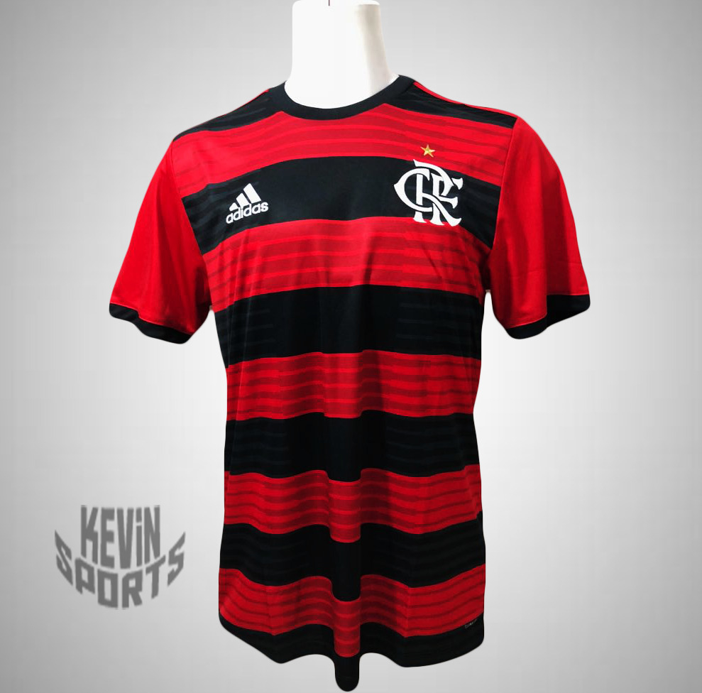 Camisa Flamengo Adidas I 2018 Rubro-Negra - comprar online d51218390fe42