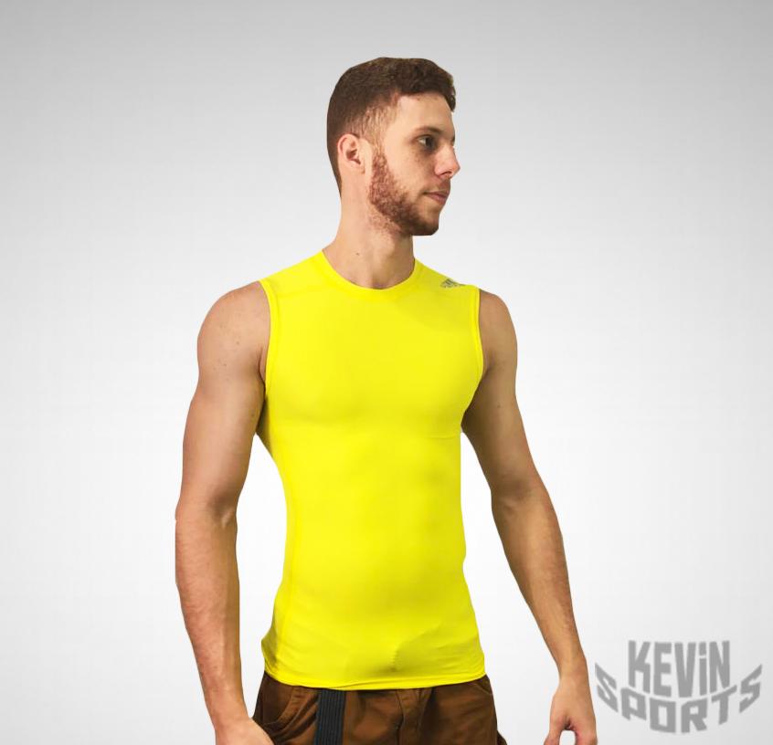 2ab4f412be Regata Adidas Techfit Base Masculina - Amarela