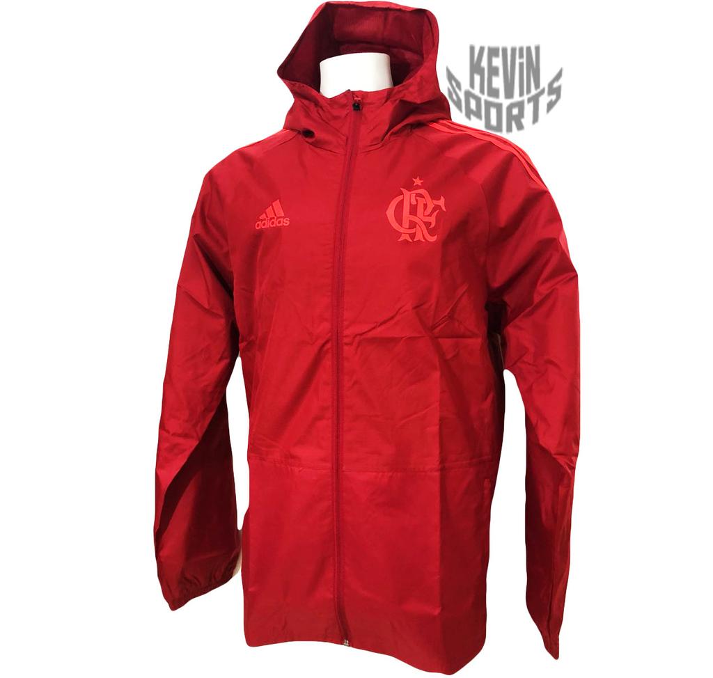 Capa de Chuva Flamengo Adidas 2018 Jaqueta Rain - comprar online 86cd6cf19e2cd