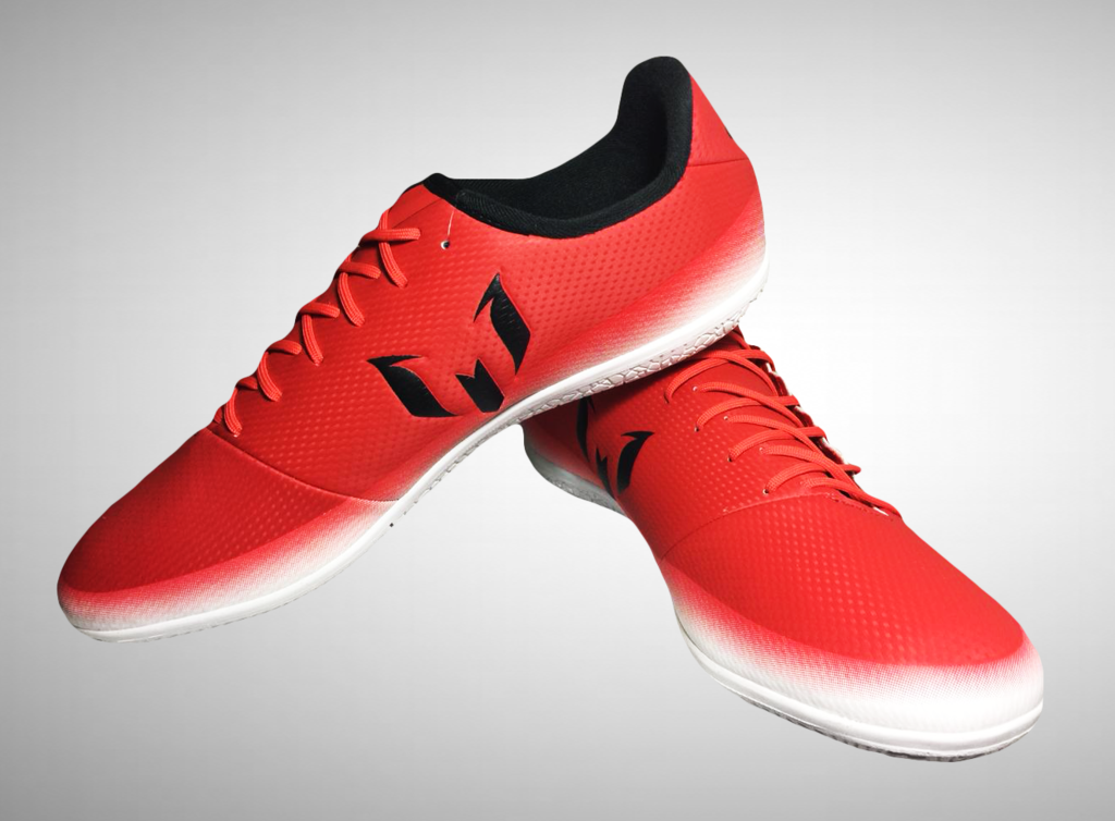 3bb2657dad Chuteira Futsal Adidas Messi 16.3 IN Masculina - Vermelho e Branco - comprar  online