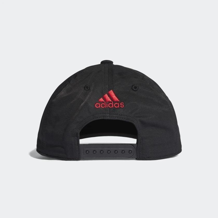 Boné Flamengo Adidas Preto   Vermelho - comprar online 4d0e7fc3061