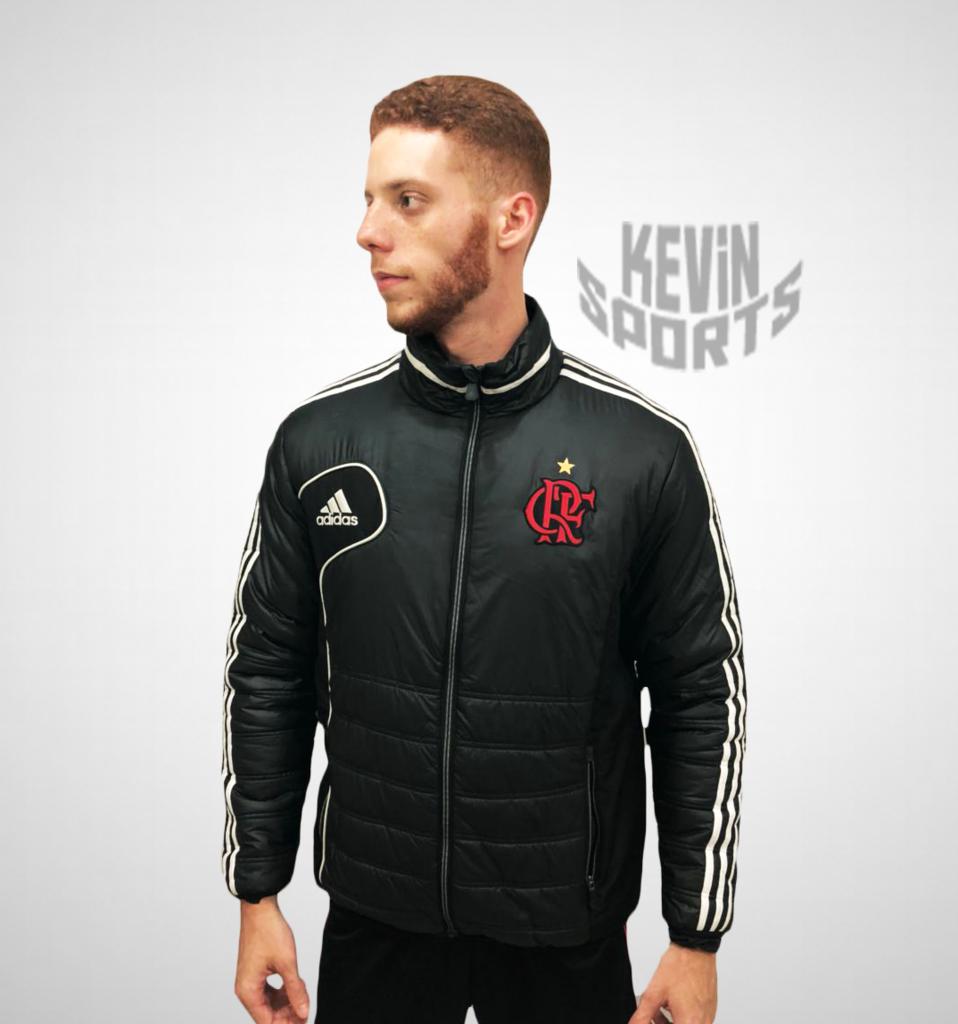 Agasalho Acolchoado Flamengo Adidas - Kevin Sports 9294dde7c55dc