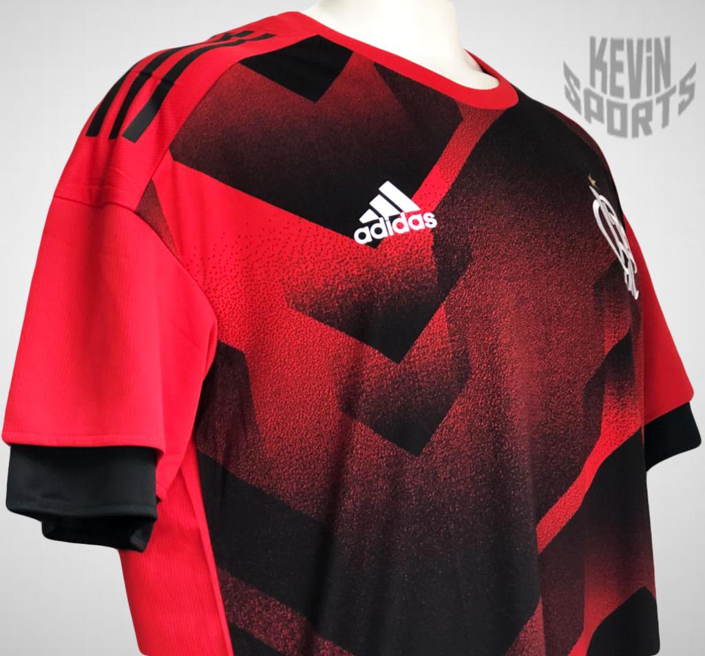 7a317baf09edf Camisa Adidas Flamengo Pré Jogo 2017 - Kevin Sports