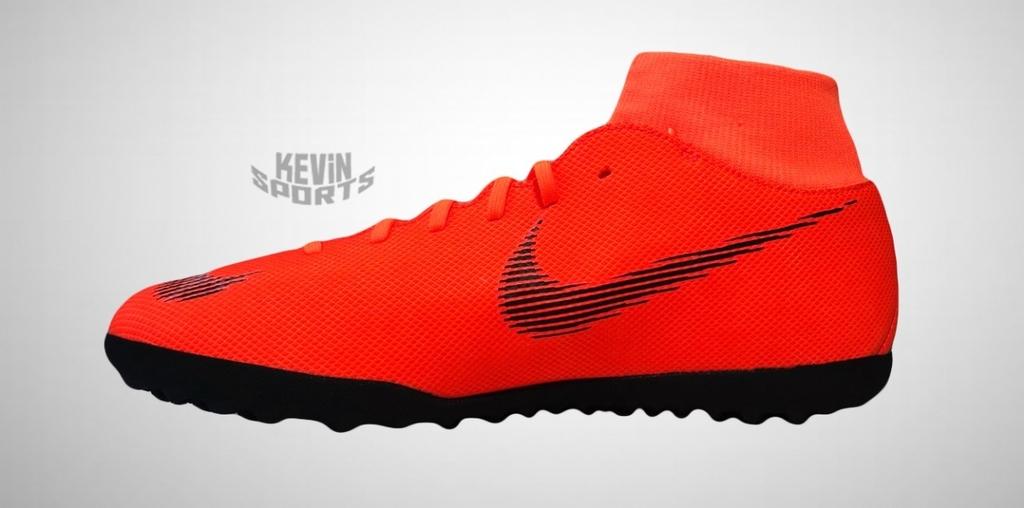 4bb3fbd2a2 Chuteira Society Nike Mercurial Superfly 6 Club Masculina - Laranja e Preto  - comprar online