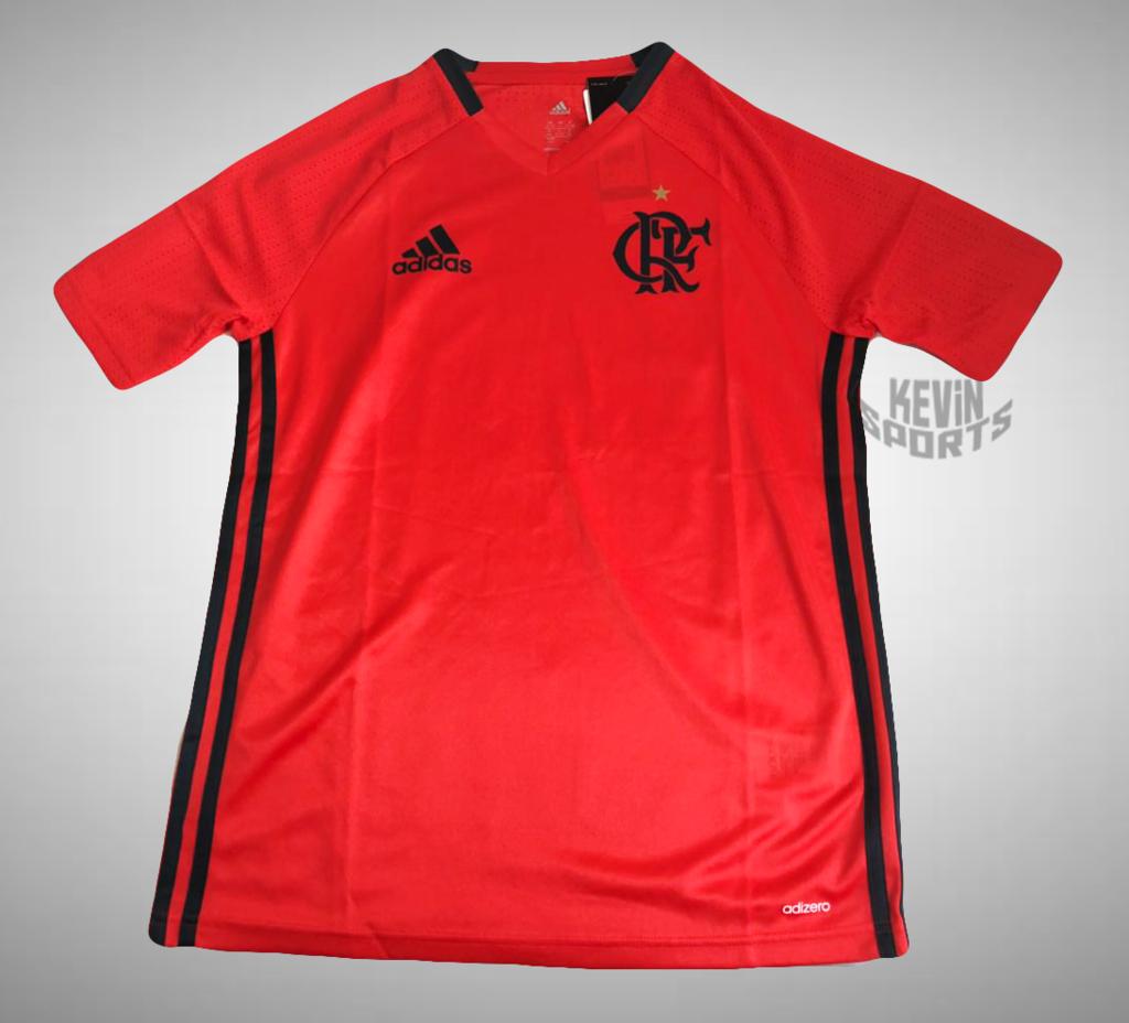 7f34a0b7c5146 Camisa de Treino Flamengo 2016 adidas - Infantil