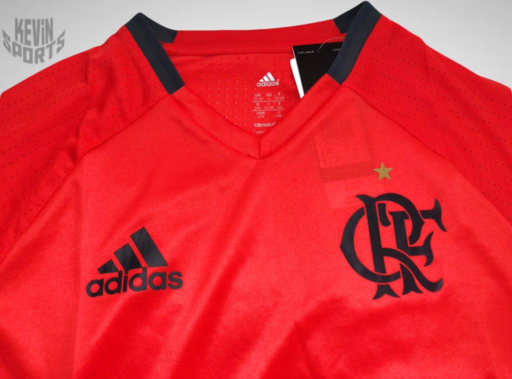 Camisa de Treino Flamengo 2016 adidas - Infantil - comprar online a1cc4b183b664