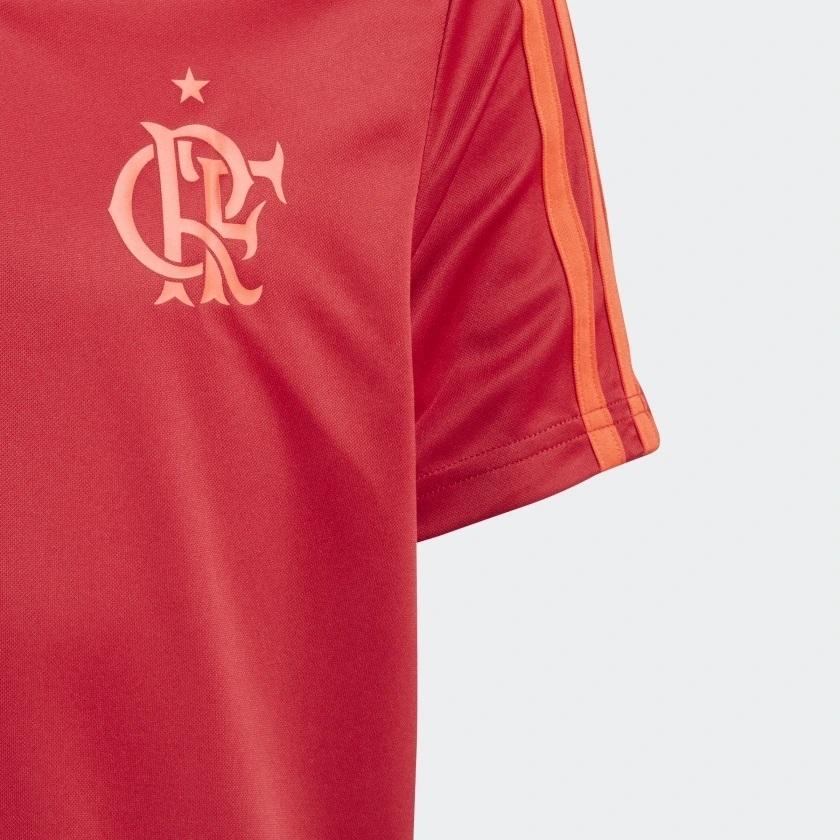 1f0f50d0a6 Camisa Infantil Flamengo Treino 2018 Vermelha na internet