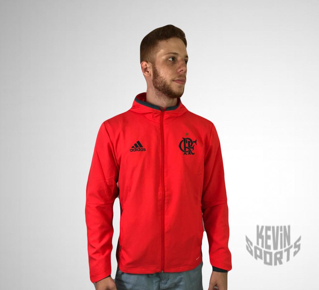 Jaqueta Corta Ventos Flamengo Adidas na internet. Jaqueta Corta Ventos  Flamengo Adidas - Kevin Sports c59e9d1b3448a