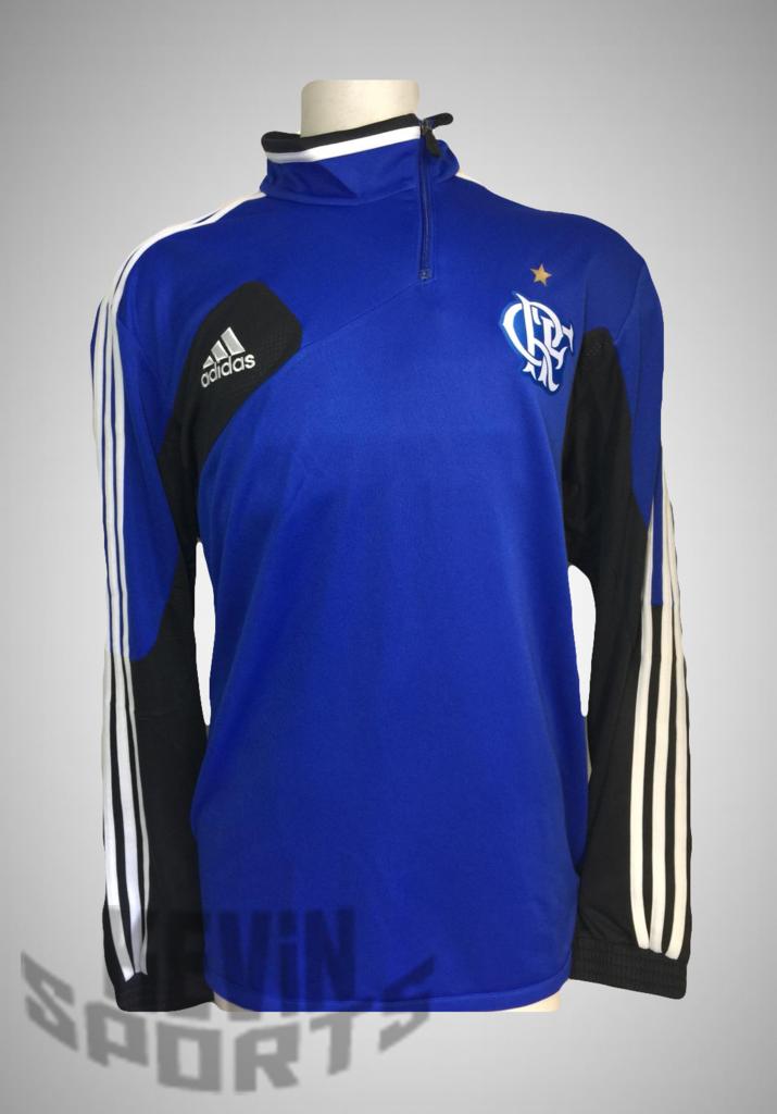 9414229150 Imagem do Casaco Flamengo adidas De Treino Azul Moletom