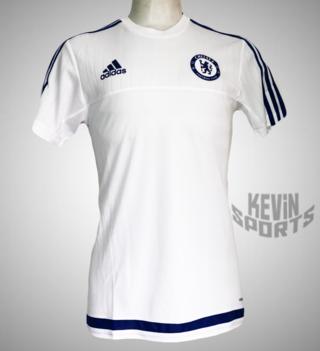 1920c56e5e7 Camisa de treino Adidas Chelsea - Branco e Marinho