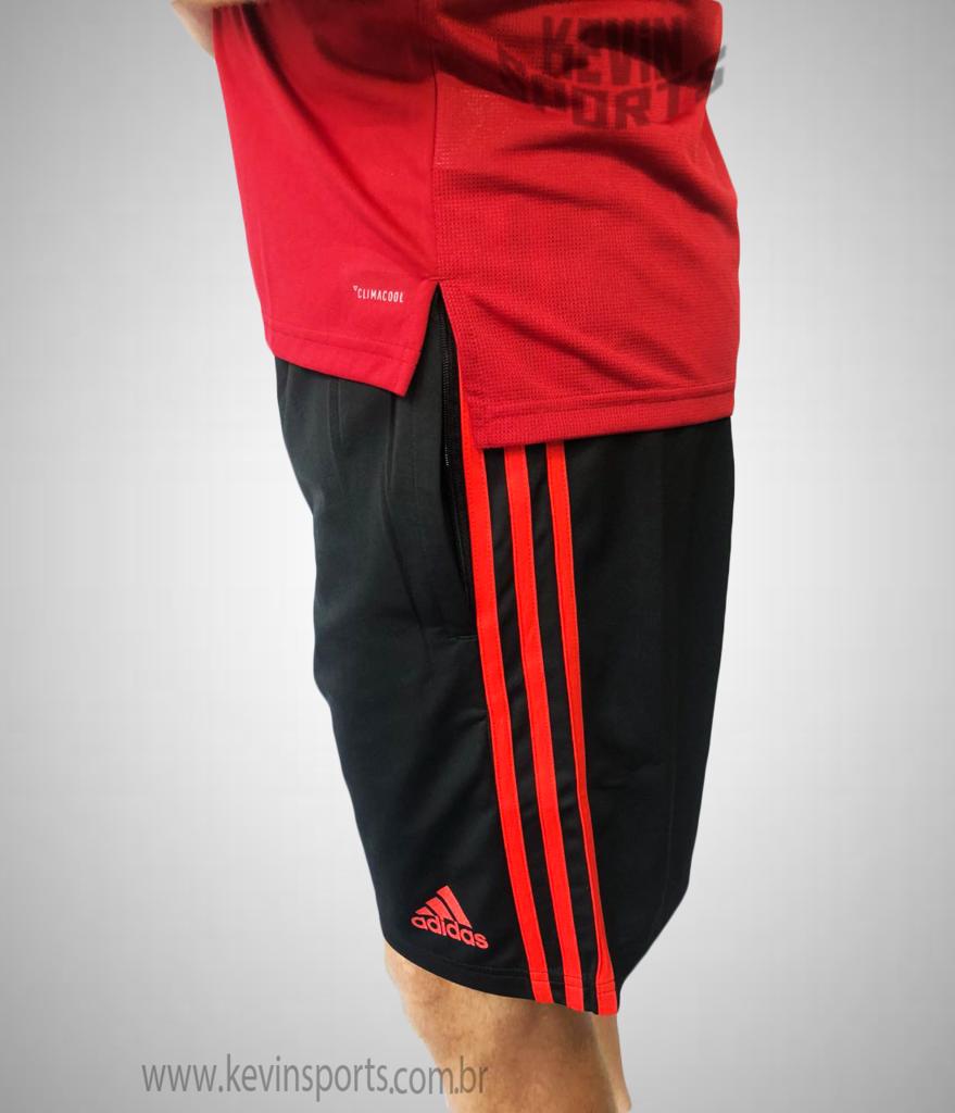 cd88cfeff3 Short de Treino Flamengo Adidas 2018 Com Bolso na internet