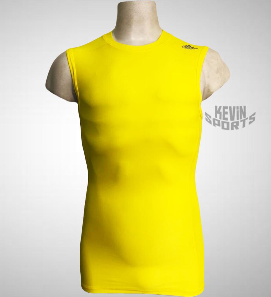 a6b9952e5e Regata Adidas Techfit Base Masculina - Amarela - Kevin Sports