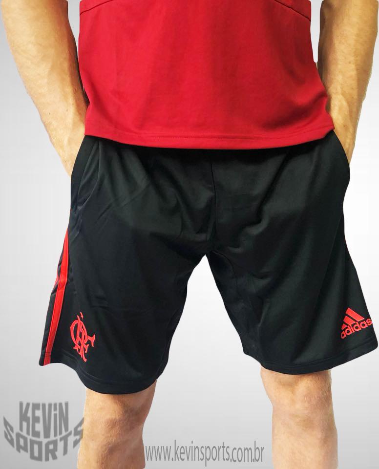 1b8579808 Short de Treino Flamengo Adidas 2018 Com Bolso - Kevin Sports