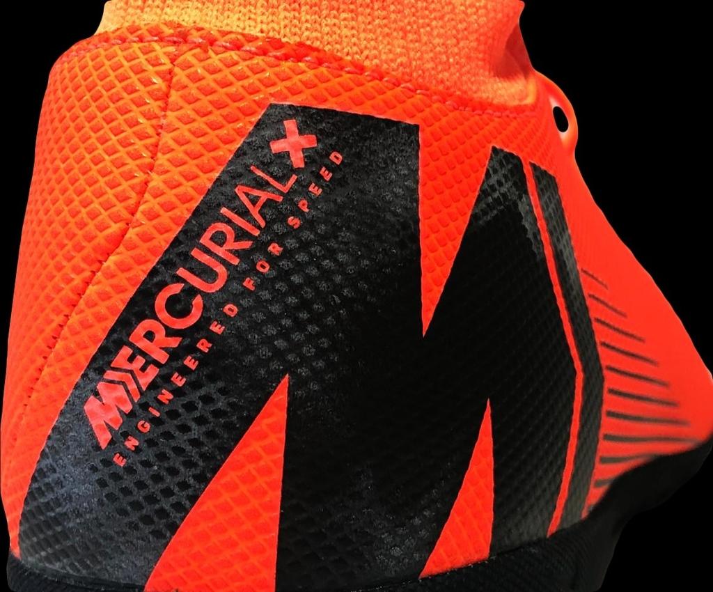 ddd3696390e99 Chuteira Society Nike Mercurial Superfly 6 Club Masculina - Laranja e Preto  na internet