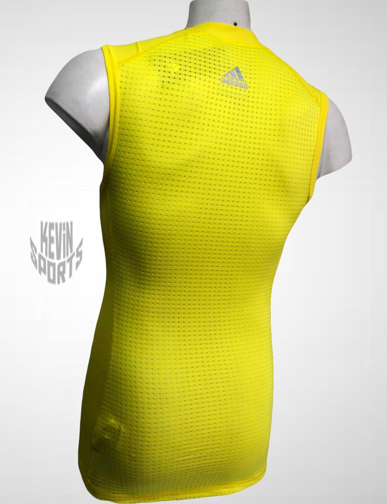 758524207e Regata Adidas Techfit Base Masculina - Amarela na internet