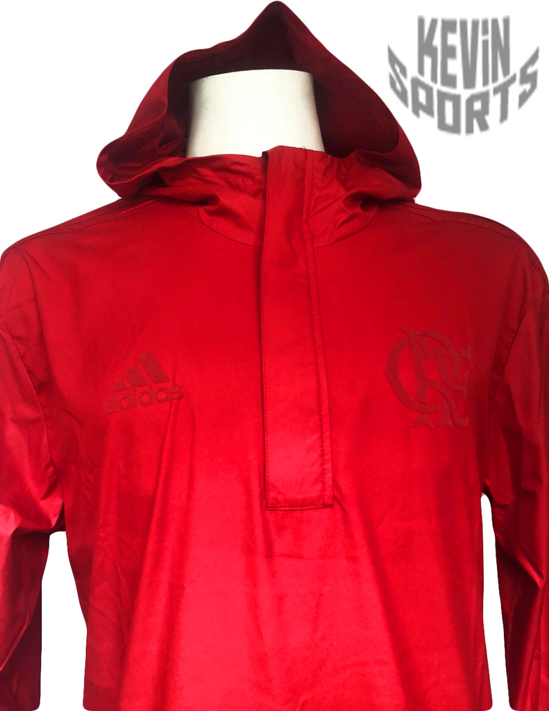 Capa de Chuva Flamengo Adidas 2018 - Kevin Sports 0f57713abfe32