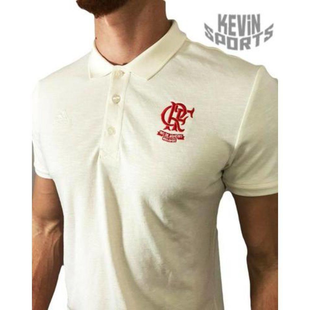 a5da8bbcc Camisa Polo Flamengo Adidas Rio 450 anos Bege - comprar online