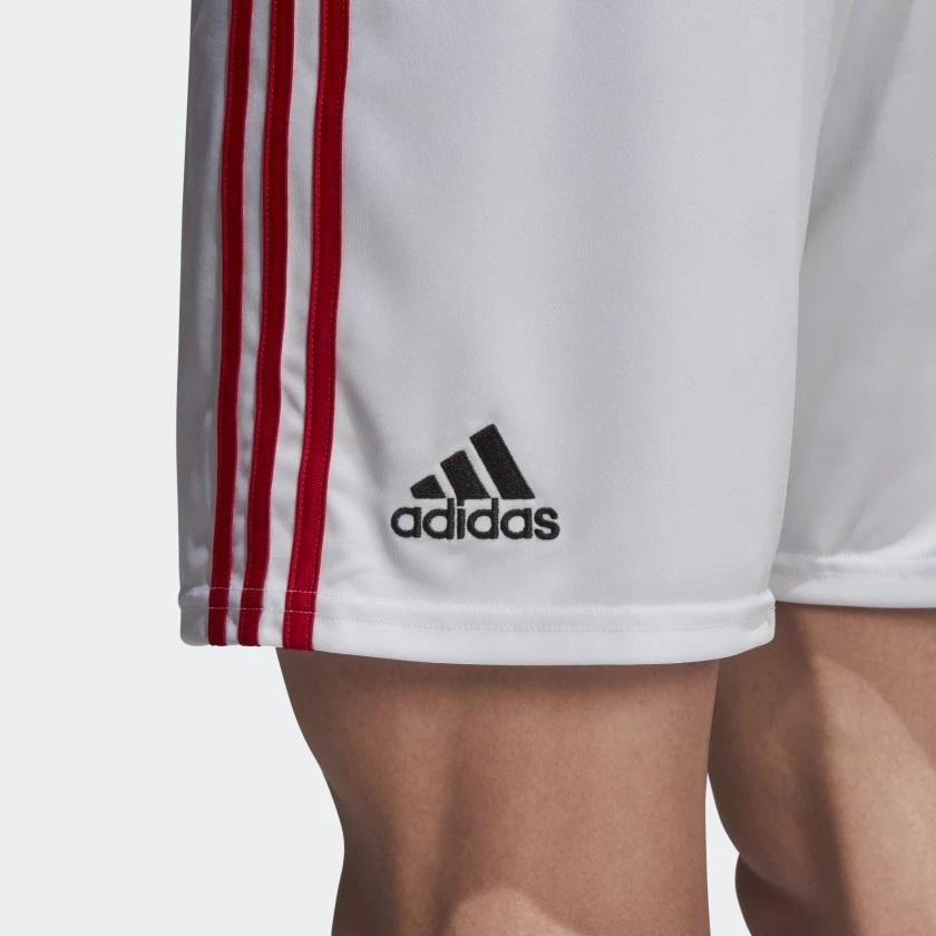7b5c716d5e Short Flamengo Adidas Jogo Branco 2018 - Kevin Sports