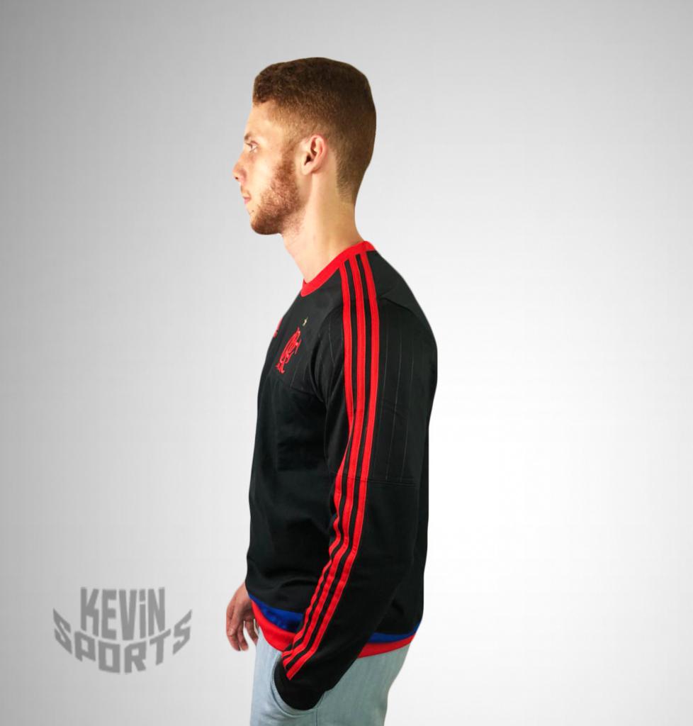 Casaco Moletom Flamengo Adidas Rio450 Anos. - Kevin Sports 8f1cfd7bf84ea