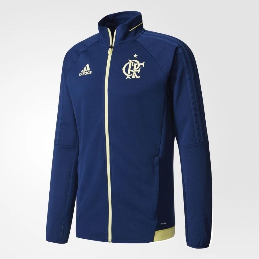 f4fb1d99d Casaco Flamengo Adidas Treino Azul - Kevin Sports