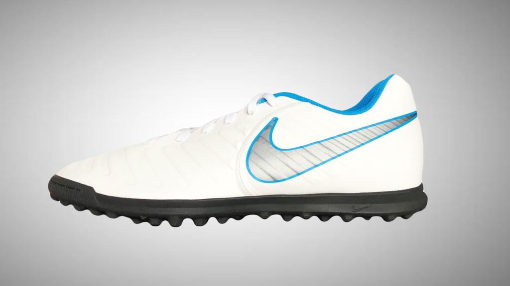 d54accaa29e8b Chuteira Society Nike Tiempo Legend 7 Club TF - Branco e Cinza - comprar  online