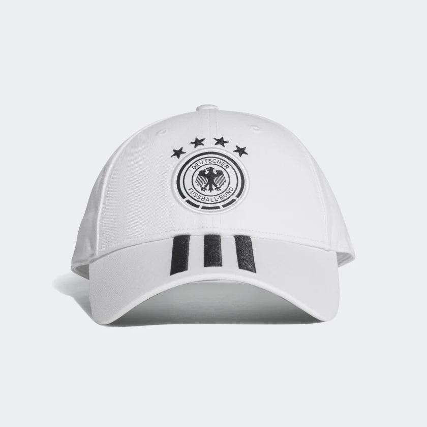 Boné Alemanha Adidas 2018 Branco - Kevin Sports 52840458ccd62