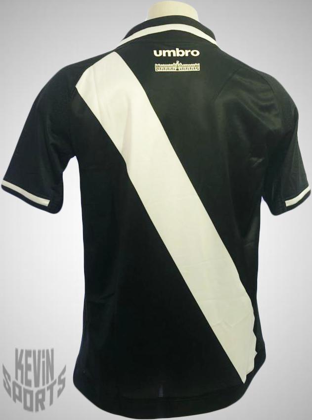 8b525414fe04f Camisa Vasco Oficial 1 17 18 - Preto e Branco - comprar online