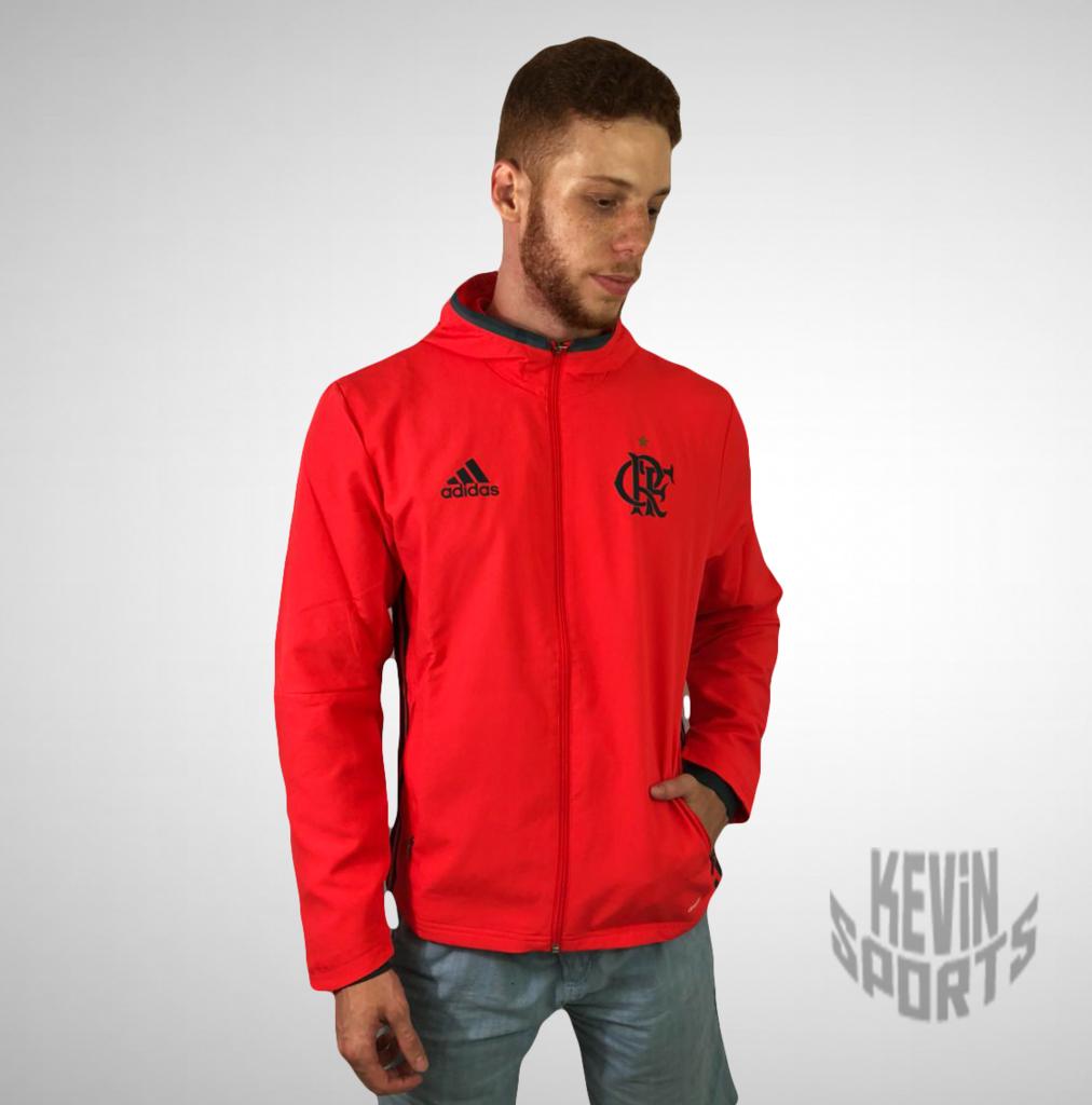 9b4b9058af3 Jaqueta Corta Ventos Flamengo Adidas - Kevin Sports