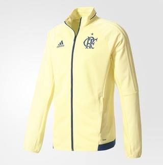 70ae955a25 Casaco Flamengo Adidas Treino Amarelo