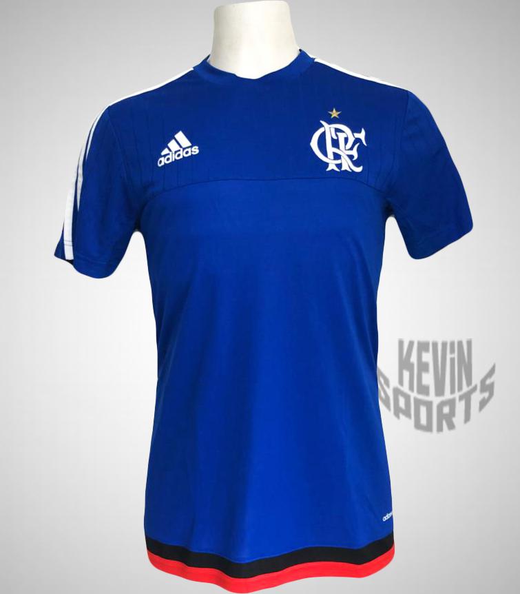321b968830386 Camisa Adidas Flamengo 450 Treino 2015 - Kevin Sports