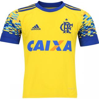 ... Camisa Flamengo III 2017 2018 Adidas Amarela d2e5821383763f ... ed78424db52e9
