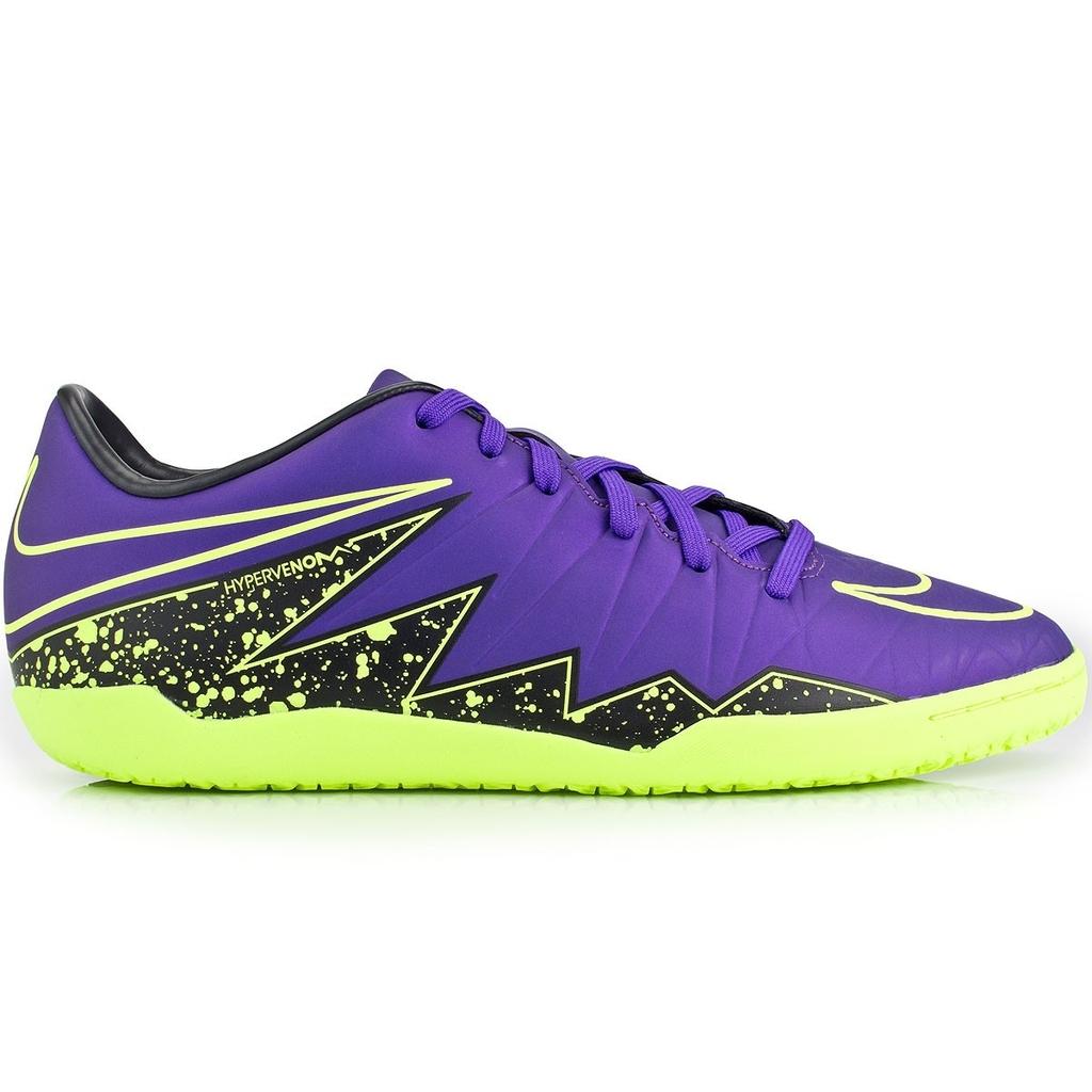 Chuteira Nike Hypervenom Phelon II IC Futsal - Roxo d99c1aea0693d
