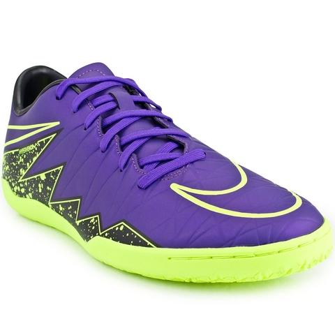715fc5e12d Chuteira Nike Hypervenom Phelon II IC Futsal - Roxo
